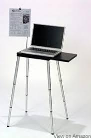 Portable Standing Laptop Desk Top 10 Best Standing Laptop Desks In 2018 Reviews