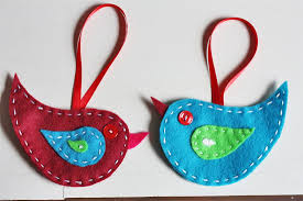 felt bird ornaments factory direct craft