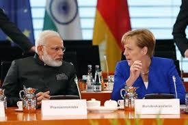 German Cabinet Ministers Modi Merkel Hold 4th Indo German Intergovernmental Talks
