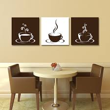 Coffee Cup Decoration Kitchen Incredible Ideas Kitchen Canvas Wall Art Stylist Inspiration Set
