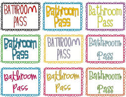 bathroom pass ideas the 25 best ideas about bathroom pass on with