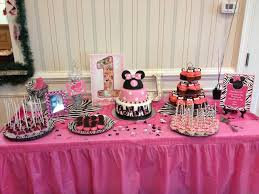 baby s birthday ideas dessert table for my baby 1st birthday party minnie