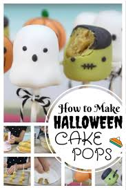 How To Make Halloween Cakes How To Make Halloween Cake Pops The Budget Diet