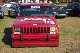 1988 jeep comanche white jeep comanche race truck driven to 1988 scca manufacturers