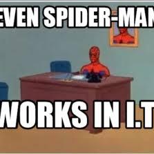 Spiderman Meme Desk - spiderman meme desk desk design ideas