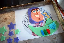 easy buzz lightyear toy story birthday cake idea for beginners
