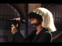 Sia Singing Chandelier Live This Is The Live Mic Feed An Amazing Vocal Performance By Sia Of