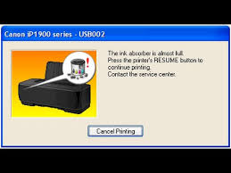 cara reset printer canon ip2770 lu kedap kedip bergantian reseting canon ip 1980 in windows 7 8 youtube