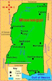 louisiana state map key mississippi facts map and state symbols enchantedlearning