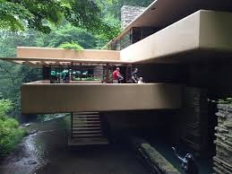 cantilevered deck cantilevered deck at wright s fallingwater picture of