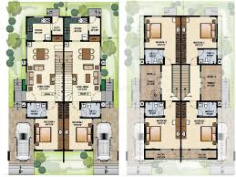 homely idea duplex row house plans 12 4 plex building bedroom on