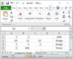 Help With Excel Spreadsheets by Help Exles And Information On Excel Formulas