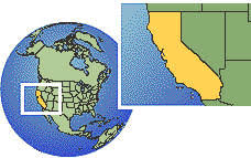 us map states los angeles current local time in los angeles california united states