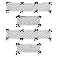 Zig Zag Crib Bedding Set Sweet Jojo Designs Zig Zag Crib Bumper From Buy Buy Baby