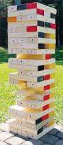 Backyard Jenga Set by How To Make Jenga Game The Life Of The Party My Town Crier