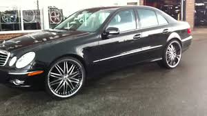 do lexus wheels fit mercedes e350 on staggered 22