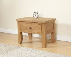 Oak Side Table Cotswold Rustic Light Oak Side Table Oak Furniture Uk