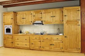meuble cuisine pin massif charmant placard d angle salle de bain 7 meuble bas 1 porte pin