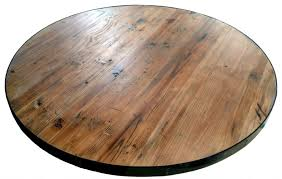 economy round reclaimed wood tabletop awesome round wooden