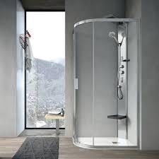 sliding shower screen corner curved aster t hafro srl