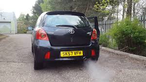 toyota yaris sr review toyota yaris sr stainless steel exhaust