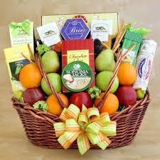 fruit basket gifts harrisonburg florist blue ridge florist fruit gourmet gift baskets