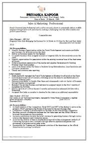Sample Resume For Freshers Mba Finance And Marketing Free Download Sales Marketing Resume Http Www Resumecareer