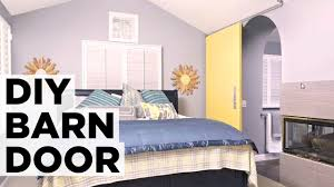 Install Sliding Barn Door by How To Install A Sliding Barn Door Hgtv Youtube