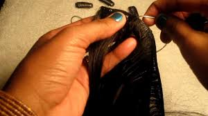 Yaki Clip In Human Hair Extensions by How To Make Clip In Hair Extensions Youtube