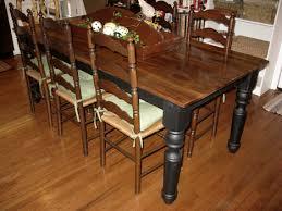 Teak Dining Room Set by Dining Room Interior Elegant Rustic Two Tone Brown And Black Teak