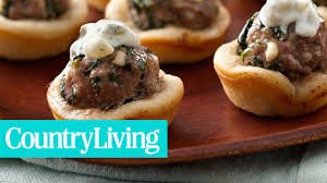 holiday appetizers 19 delicious holiday appetizers country living youtube