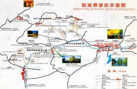 China Province Map Hunan Maps Map Of Hunan China Hunan Province Maps Hunan Tourist Map