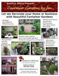 botanica atlanta landscape design build maintain container gardens