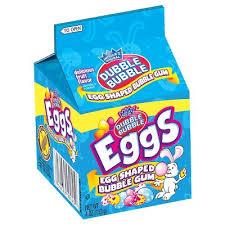 easter egg gum dubble easter egg shaped gum 4 oz pack of 4