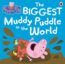 peppa pig biggest muddy puddle picture book