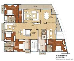 floor plans b 20 west end colony fourth floor penthouse apartment