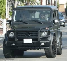 kris jenner mercedes suv who drive the mercedes g wagon luxe diary