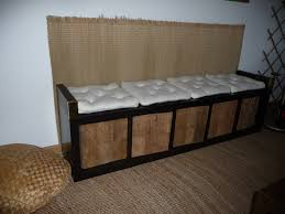 ikea kallax bench pimp a shelf to a bench ikea hackers