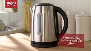 Argos Russell Hobbs Toaster Cookworks Wk8256hy Stainless Steel Jug Kettle Argos Review Youtube