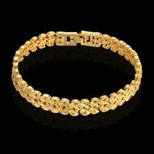 gold hand bracelet images Buy 9mm star bracelet wholesale gold color mens jpg