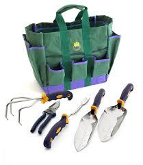 5 pc garden tool set w free garden bag garden tools by cutco