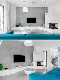 8 tv wall design ideas for your living room contemporist 8 tv wall design ideas for your living room the concrete wall behind the