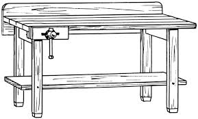 Work Bench With Vice Workbench With Vice Tools Miscellaneous Household