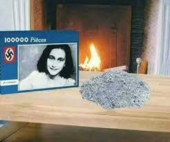 Anne Frank Memes - anne frank puzzle 9gag