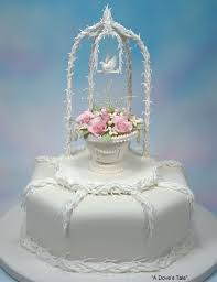 Butterfly Cake Decorations On Wire Floral Celebration Cakes U2013 World Of Sugar Art
