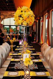 282 best black u0026 yellow weddings reception images on pinterest