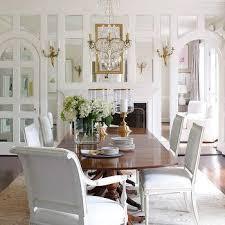 gold dining room mirror design ideas