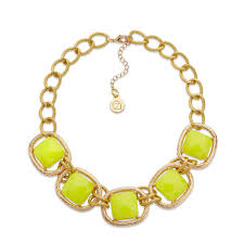 yellow jewelry necklace images 1960s costume jewelry vintage style necklaces earrings bracelets jpg