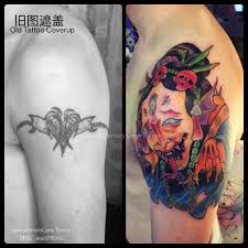 custom japanese snake demoness cover up tattoo by singapore u0027s best