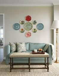 Wall Decorations For Living Room Best 20 Plates On Wall Ideas On Pinterest Hanging Plates Plate